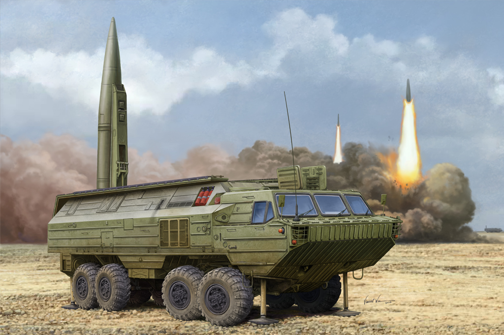 Soviet SS-23 Spider Tactical Ballistic Missile  85505