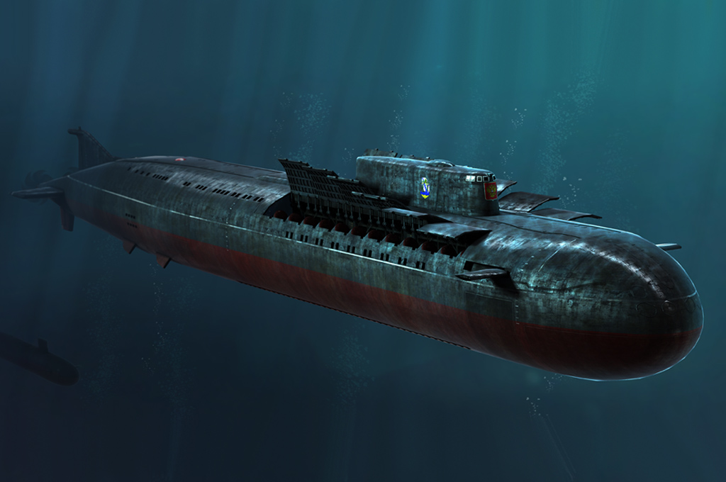 Hobbyboss 1//350 83521 Russian SSGN Oscar II Kursk Cruise Missile Submarine