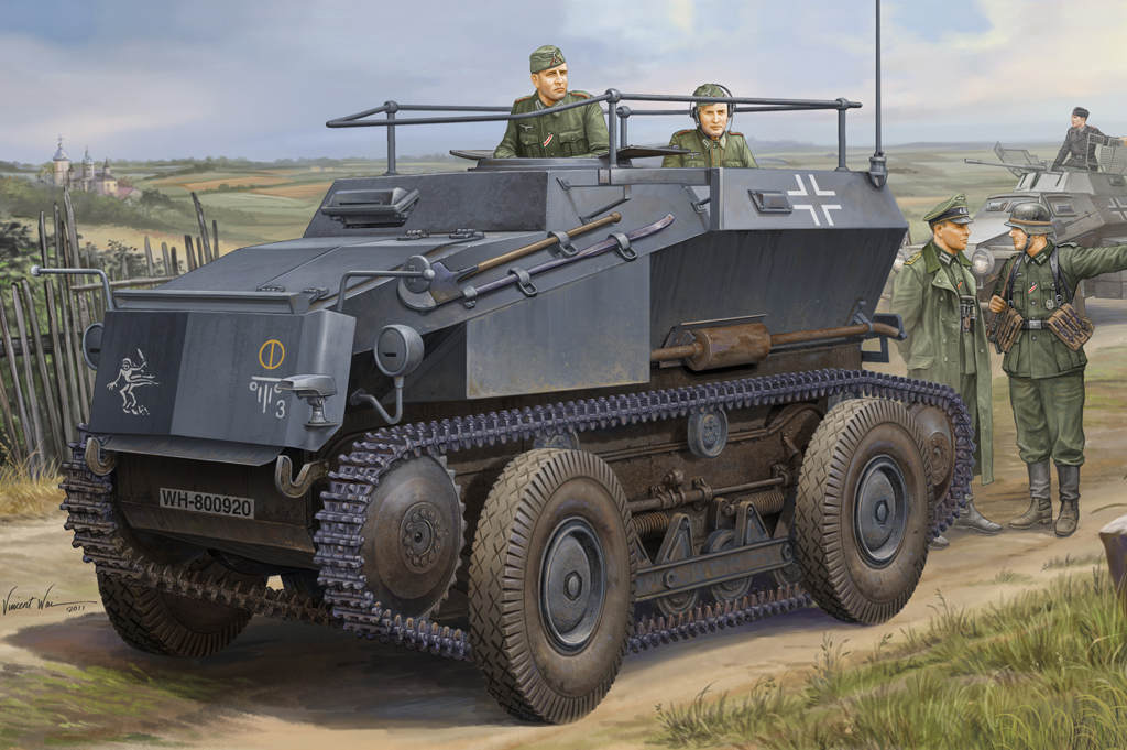 German Sd.Kfz.254 Tracked Armoured Scout Car  82491