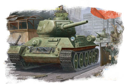 T-34/85 (Model1944 angle-jointed turret)Tank  84809