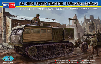 M4 High Speed Tractor (155mm/8-in./240mm) 82408