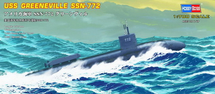 USS Greeneville SSN-772 attack submarine  87016