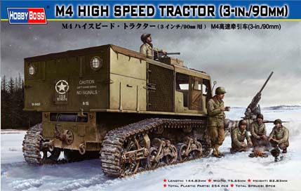 M4 High Speed Tractor(3-in./90mm)  82407