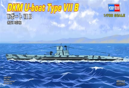 German U-boat Type Ⅶ B   87008