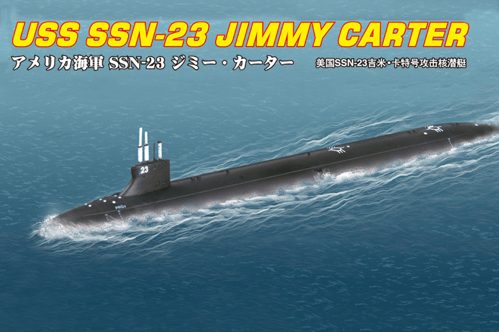 USS SSN-23 JIMMY CARTER  87004