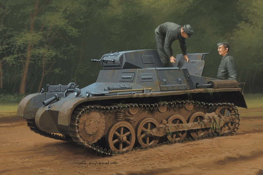 German Panzer 1Ausf A Sd.Kfz.101(Early/Late Version) 80145