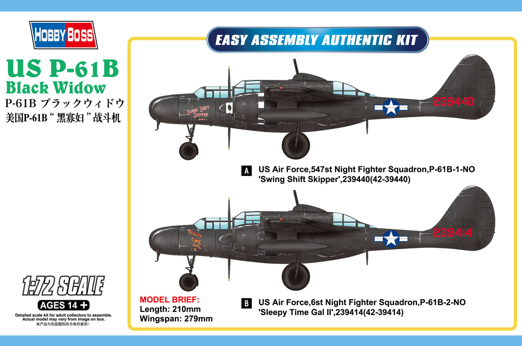 US P-61B Black Widow 87262
