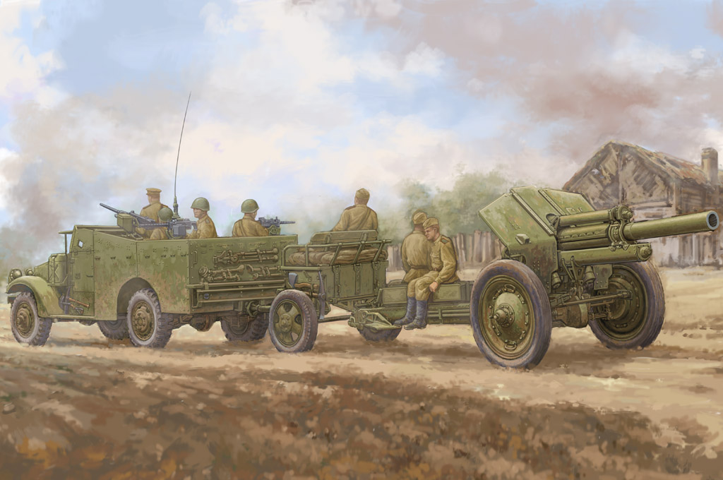 M3A1  late version tow 122mm Howitzer M-30 84537
