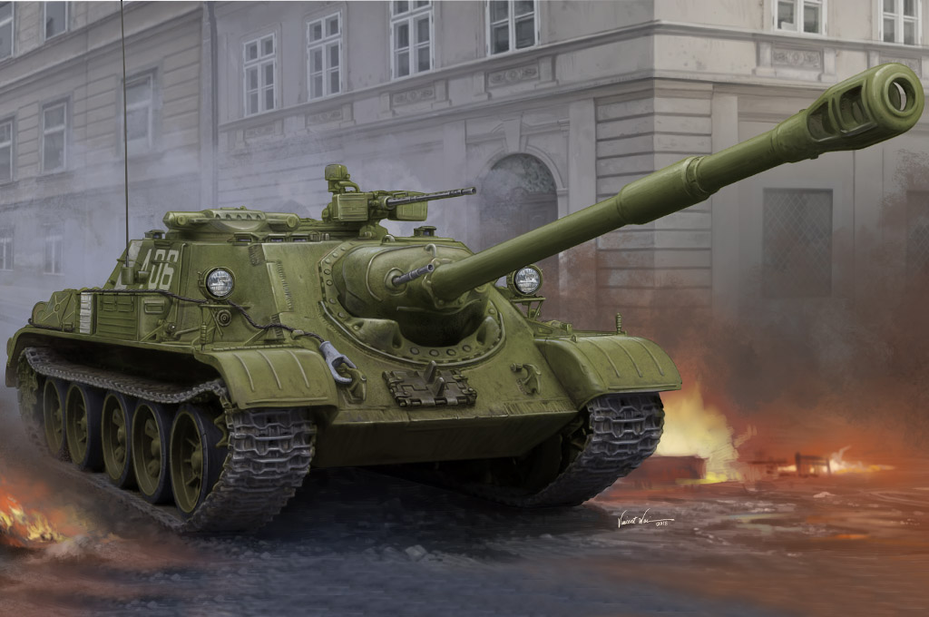 Soviet SU-122-54 Tank Destroyer 84543